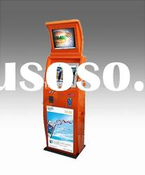 totem dual touch screen kiosk