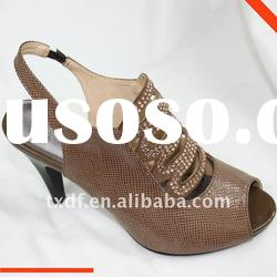 women cheap shoes, mid-needle heels, Spring footwear,lady dress shoe