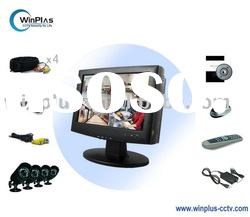 "10"" 4CH H.264 Monitor DVR with 4 x CMOS Outdoor Camera DIY Kit (WP-DL1004DK-CM)"