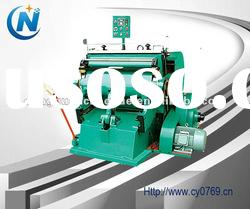 1100*800mm corrugated cardboard semi-automatic die cutting machine & creasing carton machine