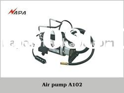 12V DC Car air compressor, portable air compressor