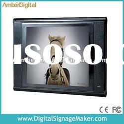 15 inch POS video display In store/ Retail store LCD Ad Players.