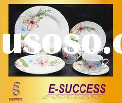 16/20pcs round porcelain dinnerware set, dinnerware set, ceramic dinner set