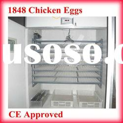 1848 chicken eggs fully automatic steel plate structure chicken egg incubator