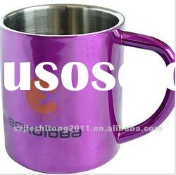 18/8 double wall Stainless steel coffee cup
