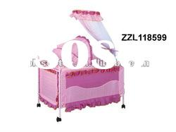 2012 Baby Bed ZZL118599 baby's cot,crib,Changing table,infanette