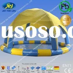 2012 HOT inflatable swimming pool cover