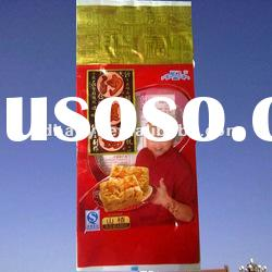 2012 High Quality CPP/LDPE laminated plastic packaging bags for snack alibaba China