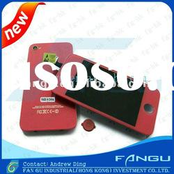 2012 Hot Sale for iphone 4 Lcd Screen OEM Quality----Red