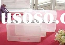 2012 Import Clear Plastic Stackable Shoe Storage Box