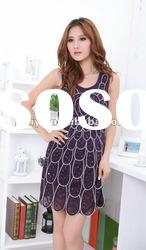 2012 New Arrivals Hot Sale Stock Designer Fashion Dress