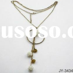2012 Newest Alloy Necklace with Beautiful Pendant