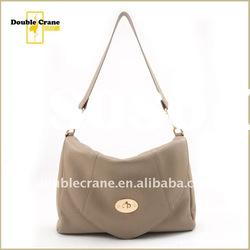 2012 Spring/Summer Ladies casual Cow Leather shoulder bag
