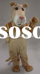 2012 adult animal cartoon lioness mascot costume for party