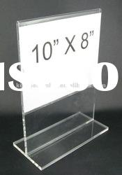 2012 best selling acrylic Menu/Card Holder