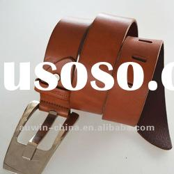 2012 fashion genuine leather ladies fashion buckle belt