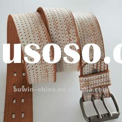 2012 fashion genuine leather ladies stylish belt