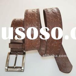 2012 fashion ladies genuine leather belt