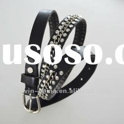 2012 fashion top genuine leather ladies fashion belt