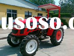 2012 hot sale 25hp small tractor with cabin,front end loader,backhoe,mower.trailer,plough