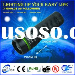2012 led Zoom Flashlight Torch