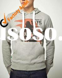 2012 men's fashion pullover sweatshirt with hood