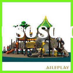 2012 new design outdoor pvc coated playground for kids TP-09501