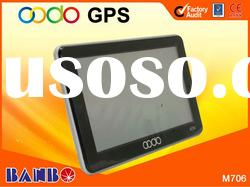 2012 new developed 7.0 inch car gps navigation system with bluetooth