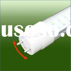 2012 new hot sell !!! Rotate High Lumen 18w T8 LED Tube