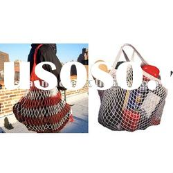 2012 new style fashion cotton handled cotton Shopping Bag for fruit