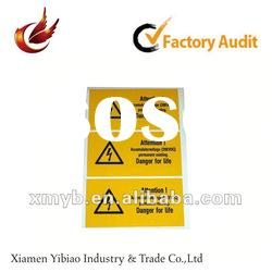 2012 self adhesive printing sticker paper
