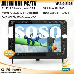 "22"" LED desktop pc tv (YF-AIO-2106)"