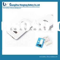 2600mAh Portable Mobile Power Station G05, Backup Battery Charger for iPhone 4G/3GS