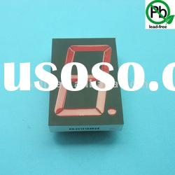 "2.3"" 7 segment led Display with Black face/Whtite Segment"