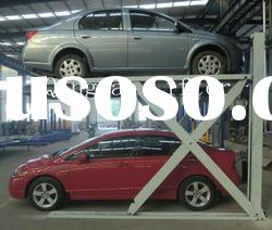 2.7t scissor parking lift;car parking lift