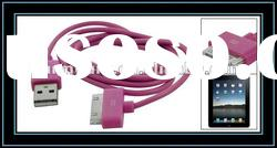 2 In 1 USB 2.0 Data SYNC Charger Cable for iPhone iPod Nano Video Photo