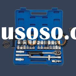 33 Piece household tool set, 1/2'' Drive, auto repair tool