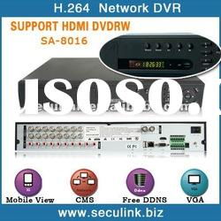 3G wireless h.264 16CH HDMI DVR recorders