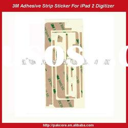 3M Adhesive Sticker for iPad 2 Touch Screen Digitizer Black Colour
