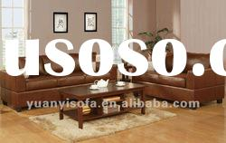 3+2+1 seater leather sectional sofa set for living room