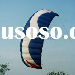 3 square meter power kite, kite surfing kite boarding high quality,with control bar and line