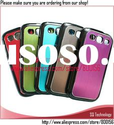 5 Colors Aluminum+PC Cover Case for Samsung Galaxy S3 III i9300
