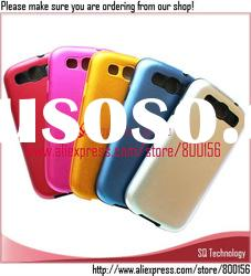 5 Colors Aluminum+Silicone Cover Case for Samsung Galaxy S3 III i9300