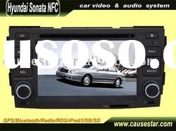 6.2 inch Car DVD Player For Hyundai Sonata NFC with GPS