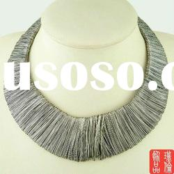 ALLOY BIB NECKLACE LARIAT NECKLACE FASHION NECKLACE