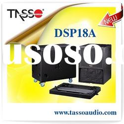 Active subwoofer speaker with DSP DSP18A