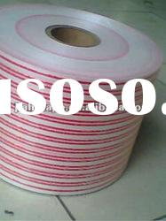 Adhesive coated opp plastic bag sealing tape