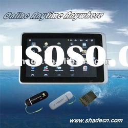 "Android 7"" Tablet PC Support 3G USB Dongle"