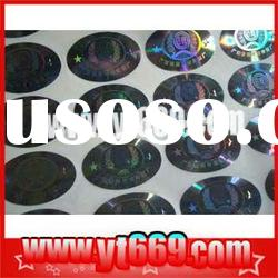 Anti-forgery manifold adhesive hologram label made in china