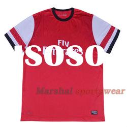 Arsenal home soccer jersey, thailand jersey,Comfortable and soft Dry-fit breath freely soccer shirt